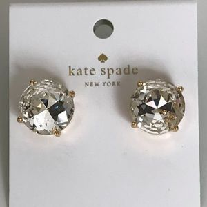 Nwt Kate Spade NY Large Gumdrop Stud Earrings